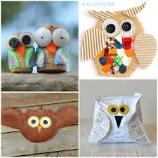 15 adorable owl crafts to make with kids