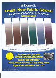 Sunchaser Awnings Replacement Fabric Dometic Rv Universal Replacement Main Awning Fabrics
