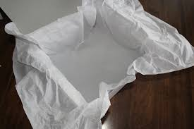 gift tissue paper how to line a gift box with tissue paper bargains
