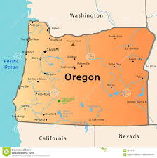 portland oregon map usa map