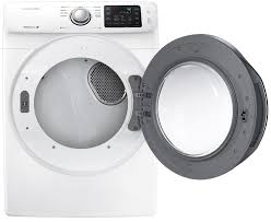 Propane Clothes Dryers Samsung White Front Load Gas Dryer Dv42h5000gw A3