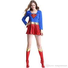 Women Halloween Costume Superhero Costume Female Superwoman Clothing