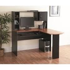 black computer hutch desks you u0027ll love wayfair
