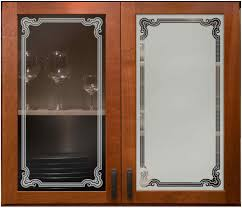 Etched Glass Designs For Kitchen Cabinets 28 Etched Glass Kitchen Cabinet Doors Antique Oak Cabinet