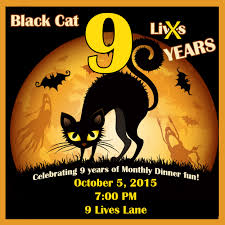 halloween party invitation background invite and delight black cat nine lives