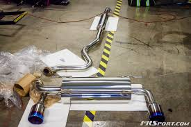subaru exhaust system our fr sport brz gets an exhaust upgrade heavy throttle