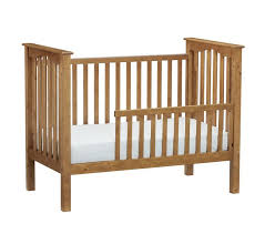 Crib Convertible Toddler Bed Kendall Toddler Bed Conversion Kit Pottery Barn
