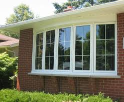 merit glass 5 panel bow window