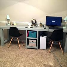 Office Desk For Two 2 Person Office Desk Two Magnificent Reception Desks And Stations