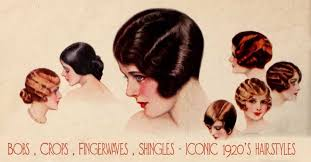 names of 1920s hairstyle history of womens fashion 1920 to 1929 glamourdaze
