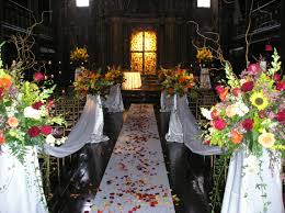 Wedding Flowers Church Wedding Flower Arrangements Seasoanal Events 2575