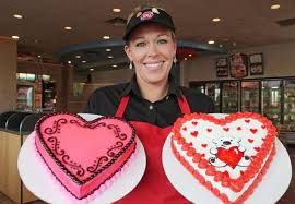 dairy queen valentine cakes idea valentine cakes cake ideas by