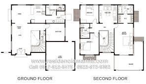 philippine house floor plans 2 storey house design and floor plan philippines escortsea