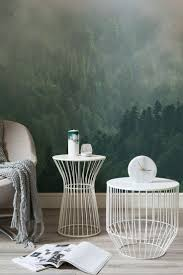 576 best trompe l oeil images on pinterest grisaille wall escape to nature with this forest wall mural captivating views of unfolding forests help to