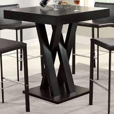 High Kitchen Tables by Small Bar Height Table 10951