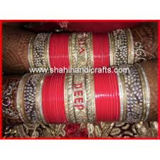 wedding chura beautiful bridal chura at shahihandicraft