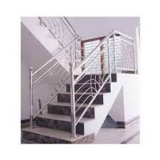 Metal Stair Banister Designer Stainless Steel Stair Railing Ss Railings Chetna