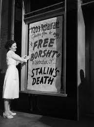 1953 1203 restaurant invites you to enjoy free borsht in