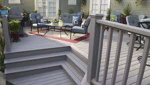 grey composite decking with furniture selecting tips for decking
