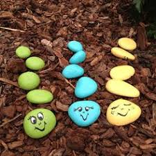 Painting Rocks For Garden Springtime Mickey Bark Recipe Ladybug Rocks Rock Crafts And