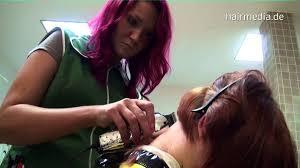 female haircutting videos clipper hair buzz cut in salon clipper youtube