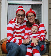halloween costume for family where u0027s baby waldo