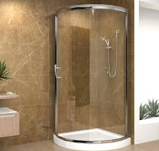 Corner Shower Glass Doors Decorating Minimalist Bathroom With Sliding Shower Doors Corner