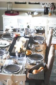 modern table settings for thanksgiving modern metallic thanksgiving