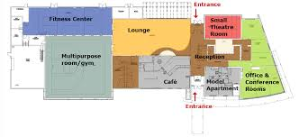 Fitness Center Floor Plans Cardinal Court University Housing Services Illinois State