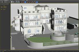 Classical House Design 3d Model Modern Classical House Cgtrader