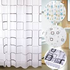 Curtains With Hooks Best Luxury Modern Bathroom Shower Curtains Extra Long With Hooks