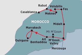 Map Of Morocco And Spain by Morocco Tours Travel U0026 Trips Peregrine Adventures Us