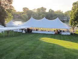 lake barrington wedding blue peak tents inc