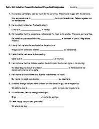subjunctive spanish worksheets free worksheets library download