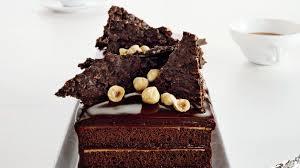 chocolate hazelnut cake with praline chocolate crunch recipe bon