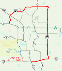 Map Of Canada Showing Calgary by Stoney Trail Wikipedia