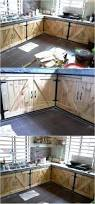 Reclaimed Wood Kitchen Cabinets Classic Ideas For Pallet Wood Recycling Pallet Kitchen Cabinets