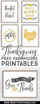 thanksgiving printable decor 12 modern farmhouse prints in 2