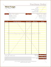 Free Purchase Order Template Excel Templates And Graphics Excel Purchase Order Format
