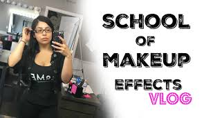 makeup effects school back to school vlog school of makeup effects