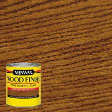 home depot interior minwax 1 qt wood finish chestnut based interior stain