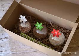 chocolate ornament gift idea