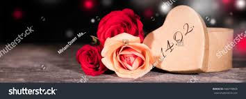 s day roses panorama valentines day roses gift date stock photo 548778805