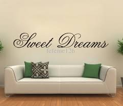 modern wall stickers wall decal vinyl sticker home decor modern modern wall sticker sweet dreams vinyl art mural living room