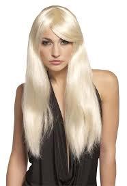 halloween blonde wigs