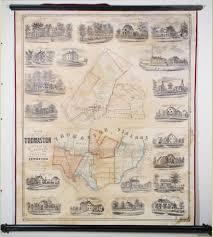 Maine Maps A Rare And Lovely Map Of Thomaston Maine Rare U0026 Antique Maps