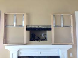 Motorized Cabinet Doors Tv Stand Best Ideas On Hide Storage And Corner