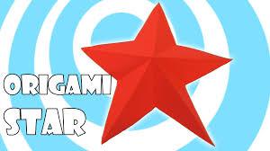 easy origami christmas star tutorial youtube