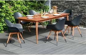 avalon 6 seater designer garden dining set