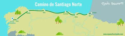 santiago de compostela camino camino norte camino de santiago por la costa